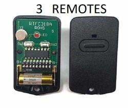 Gto RB741 Gate Opener Mighty Mule FM135 Entry Transmitter Remote Control 3PK