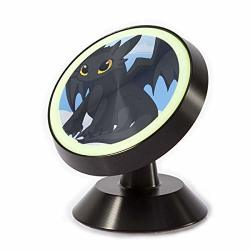 360 Free Rotating Magnetic Mobile Phone Frame Toothless Dragon Magnetic Car Phone Holder