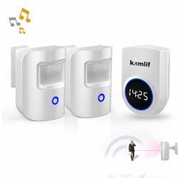 Driveway Alarm Kamlif Wireless Home Security Driveway Alarm 1 Receiver And 2 Pir Motion Sensor Patrol Infrared Alert System Kit Can Work On 5V