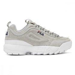 FILA Womens Disruptor II Premium Grey