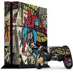 Skinit Spider-man PS4 Console And Controller Bundle Skin - Spider-man Vintage Comic Marvel X Skin