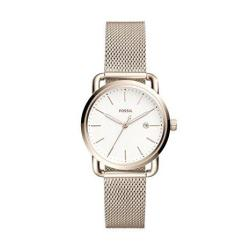 Fossil Womens The Commuter 3 Hand date - ES4349