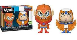 Funko Master Of The Universe Sorceress And Beastman Vynl 2-PACK Emerald City Comic Con Eccc 2018 Exclusive
