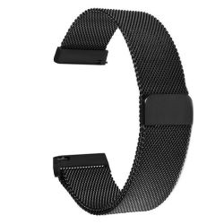 Milanese Band For Fitbit Blaze - Black Size: S m