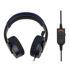 SPARKFOX W18P102 PS4 SF1 Stereo Multi-platform Black blue Gaming Headset