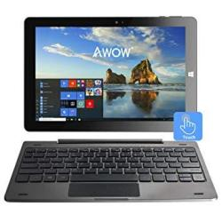 "10.1"" Touch Screen Windows 10 2-IN-1 Laptop Tablet PC With Intel X5-Z8350 Quad-core 1.44GHZ IPS HD 1280 X 800 4GB 64GB DUAL Webc"