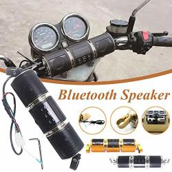 Unbran Motorcycle Bluetooth Speaker Waterproof 12V Hifi With Stereo Sound System Fm Radio Stereo Sound System For Atv Jet Ski MP
