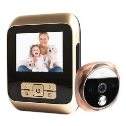 M530 3.0 Inch Tft Display 3.0MP Camera Video Digital Door Viewer Support Tf Card 32GB Max & Infrared Night Vision Bronze