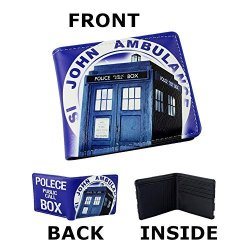 TV Wallet Dr. Who John Ambulance Womens Mens In Gift Box From Outlander