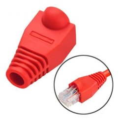 MicroWorld Boot-r RJ45 Boots - Red