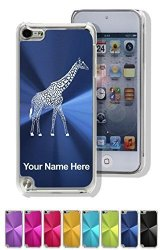 Case For Ipod Touch 5TH 6TH Gen - Giraffe - Personalized Engraving Included