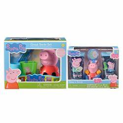 Combined Soap & Scrub Set And Super Smile Set Bundle Peppa Pig