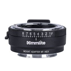 Commlite Cm-nf-nex Manual Focus Lens Mount Adapter For Nikon G F A I S D  Lens To Sony Nex E Mount Camera Sony A7 | R1960 00 | Handheld Electronics |