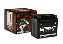 Sabat Batteries Sabat Motorcycle Battery GTX5LBS 12V 4A
