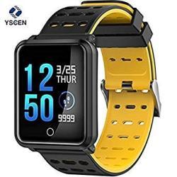 "Smart Watch 1.3"" Color Screen Activity Monitor Blood Pressure Heart Rate Monitor Pedometer Bracelet IP68 Waterproof"