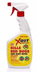 Xout Anti Bed Bug Spray Kills Bed Bugs And Dust Mites Eggs And Larva On Contact Safe Around Children And Pets 16 Fluid Ounce