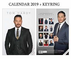 GIFTSCITY Tom Hardy Calendar 2019 A3 Poster Size + Tom Hardy Keyring