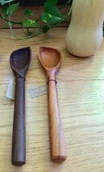 Square Edge Spoon Wooden Spoon