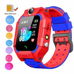 Topchances Kids Smart Watch Phone Positioning Tracker Not Gps Sos Call Safe Anti-lost Monitor Touch Screen Phone Watch For 3-12 Years Old Kids Gift