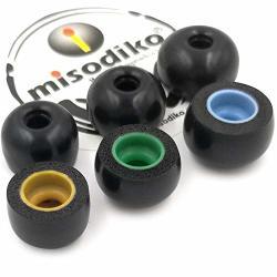 Misodiko Tws-pro Earbuds Tips For Jabra Elite 65T Active Elite Sport sennheiser Momentum True Wireless bragi Dash samsung Gear I