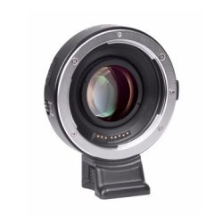 0.71x Speed Booster POCREATION Auto Focus Lens Mount Adapter for Canon EF Lens to Fuji X-Mount Mirrorless Camera Auto Focus Reducer
