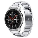 V-MORO Metal Strap Compatible With Galaxy Watch 46MM Bands gear S3 Classic frontier Band With Clips No Gaps Solid Stainless Stee