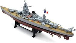 USA Wwii Dunkerque Class French Battleship 1 1000 Diecast Model Ship Pre-assembled