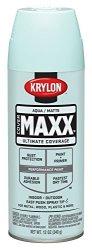 Krylon K09150000 Covermaxx Spray Paint Matte Aqua 12 Ounce