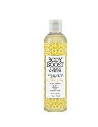 Body Boost Milk & Honey Stretch Mark Oil 8OZ Pregnancy And Nursing Safe Skin Care