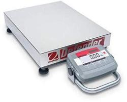 Ohaus D31P150BL5 Bench Scale Defender 3000 Low Profile
