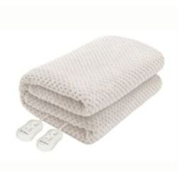 Pure Pleasure Coral Fleece Electric Blanket Fitted Queen