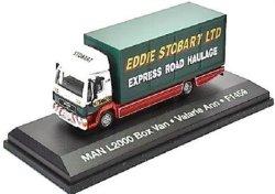 Man 1 76 - L2000 Box Van Stobart Die Cast Model