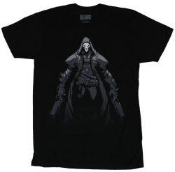 Overwatch-death Walks Among- Mens Tee-black 3XL