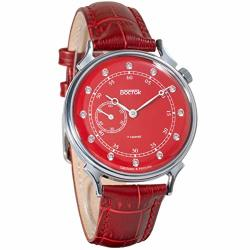 2019 Vostok Classic Womens Mechanical Red Dial Wrist Watch 581590