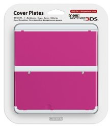 Nintendo New 3DS Cover Plates 19 - Pink