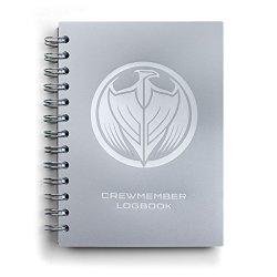 Loot Crate Halo Unsc Spirit Of Fire Crewmember Logbook Journal Notebook
