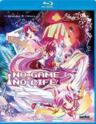 No Game No Life Region A Blu-ray