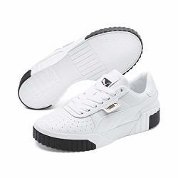 Puma Women's Low-top Sneakers White Black 6.5 Us