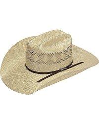 Twister Men's 8X Sisal Straw Cowboy Hat Natural 7 1 2