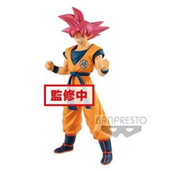 Banpresto Dragonball Super Movie Cyokoku Buyuden-super Saiyan God Son Gokou Toy Multicolor