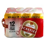 Castle Lager - Can 12X500ML