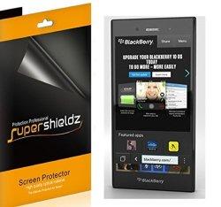SUPERSHIELDZ 6-PACK - Anti-glare & Anti-fingerprint Matte Screen Protector For Blackberry Z3 + Lifetime Replacements Warranty 6-