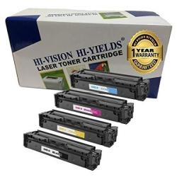 Hi-vision Hi-yields Compatible Toner Cartridge Replacement For Canon 045 Color 4-PACK