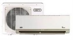 Defy Wall Mountable Spit Unit 24000 Btu Inverter Air Conditioner Indoor And Outdoor Bundle AHI24H1P Plus ACI24H1P Colour White Retail Box 1 Year Warranty Product