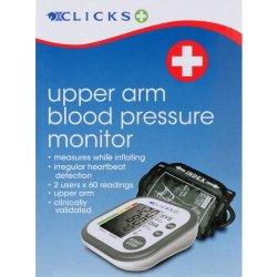 Clicks Upper Arm Blood Pressure Monitor