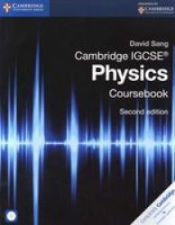 Cambridge Igcse Physics Coursebook With Cdrom