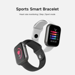 SMART WATCH SX16 - Heart Rate Monitor Blood Pressure Fitness Tracker For Ios Android