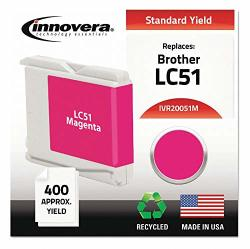 Innovera Brother Ink Cartridge No. LC51M Magenta