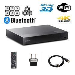 Sony BDP-S6700 Multi Region Blu-ray DVD Region Free Player 110-240 Volts Dynastar HDMI Cable & Dynastar Plug Adapter Package 4K