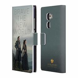 Head Case Designs Official Outlander Brave The New World Season 4 Art Leather Book Wallet Case Cover For Huawei Mate S